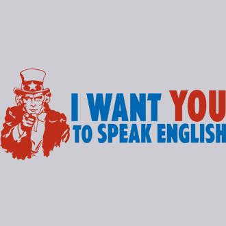 parlo inglese