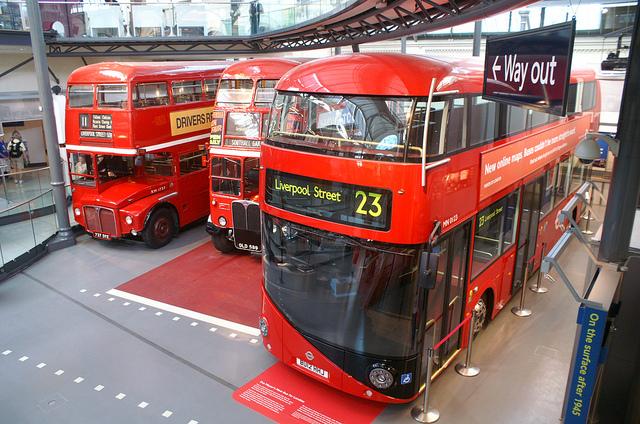I nuovi bus a due piani di londra ecco il nb4l for Nuovi piani domestici di new orleans