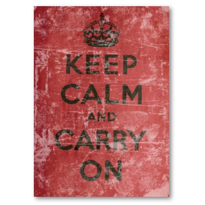 """Keep Calm and Carry On"": la Storia"