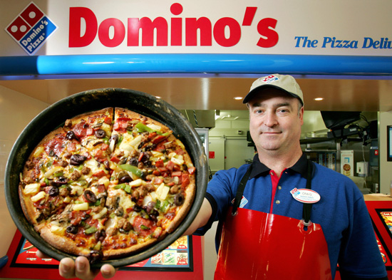 Lavoro a Londra: Domino's Pizza assume