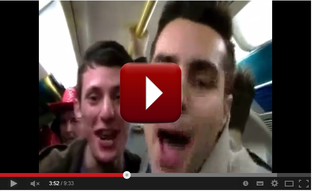 Capodanno 2014 a Londra: il Video!