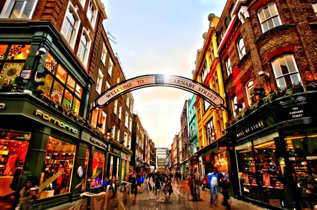 Visitare Londra (video): da Fleet Street a Carnaby Street