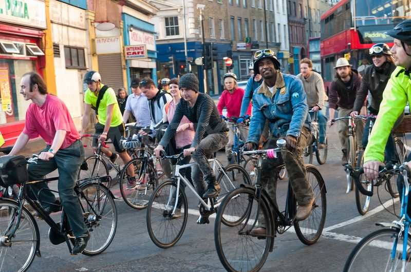 Metropolitana vs. Bicicletta a Londra