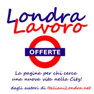 Londra lavoro offerte su twitter italiani londra blog for Offerte di lavoro ristoranti italiani a londra